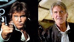 Star Wars VII, il nuovo trailer   Harrison Ford-Ian Solo  ieri e oggi