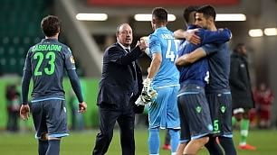 "Benitez: ""Resto se..."" Gelo con De Laurentiis"