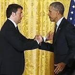 """Obama: """"Riforme, governo Renzi è sulla strada giusta""""   video"""