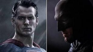 """""""Batman vs Superman"""" nel 2016 prime immagini di Affleck e Cavill"""
