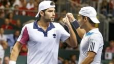 Bolelli-Fognini in finale   Fed Cup , Giorgi ko Errani rimedia: è 1-1