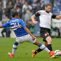 Sampdoria-Cesena, il film della partita