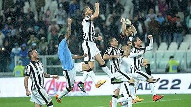 La Juve liquida la Lazio  -   foto        e vola a +15