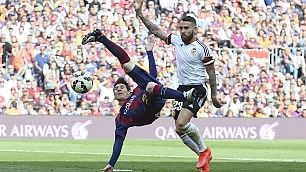 Messi, gol numero 400   vd   nel club dei superbomber