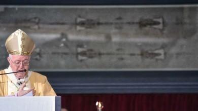 """L'Ostensione a Torino    le immagini   """"Sindone simbolo della vittoria sul male"""""""