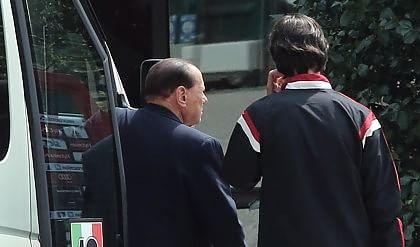 """Mancini: """"Ripartiamo""""   vd     Inzaghi : """"Tre punti per Silvio"""""""