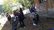 Roma, pulizie di Pasqua una domenica a scuola  per genitori e nonni