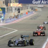 Hamilton domina il Gp del Bahrain