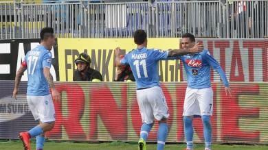 Per la Roma solo pari, niente sorpasso    e ora in  diretta  Cagliari-Napoli  0-3