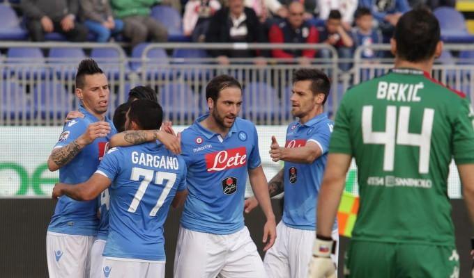 Cagliari-Napoli  0-3 : segui la gara in diretta