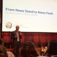 "Facebook: ""More collaboration, not competition, with media"""
