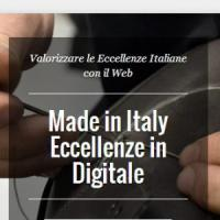 Eccellenze in digitale, quando il Made in Italy va sul web