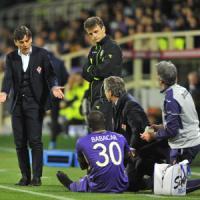 """Fiorentina, Montella: """"La formazione era giusta, noi generosi ma ingenui"""""""