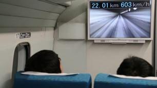 A 603 km/h: record di velocità per treno a levitazione magnetica