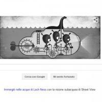Mostro di Loch Ness, Google celebra l'81° anniversario della foto con un doodle