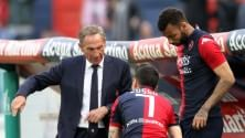 """Zeman si dimette  """"Squadra non mi segue""""   Capital  Boninsegna:    """"Con me e Riva tifosi  non sarebbero usciti vivi"""""""