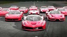 """Ferrari """"Tribute to China Culture Rally"""" che idea"""