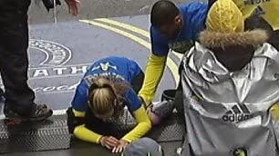 Perse gamba nell'attentato di Boston: Rebekah torna a correre