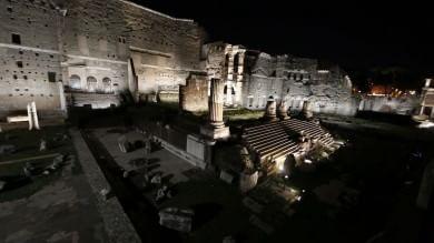 Roma: si accendono i Fori, luci da Oscar