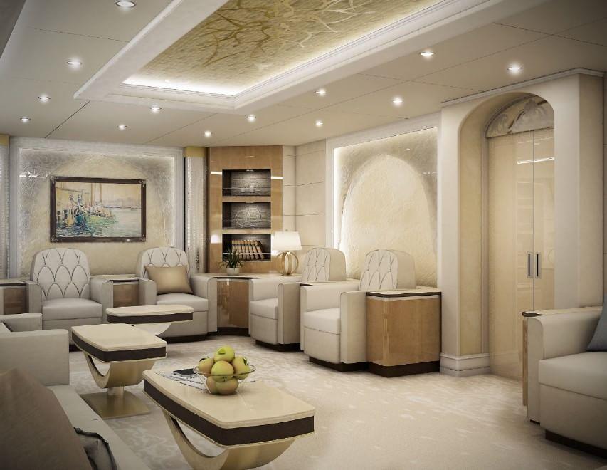 Vizi da miliardari il boeing diventa una mega casa di for Case di lusso interni foto