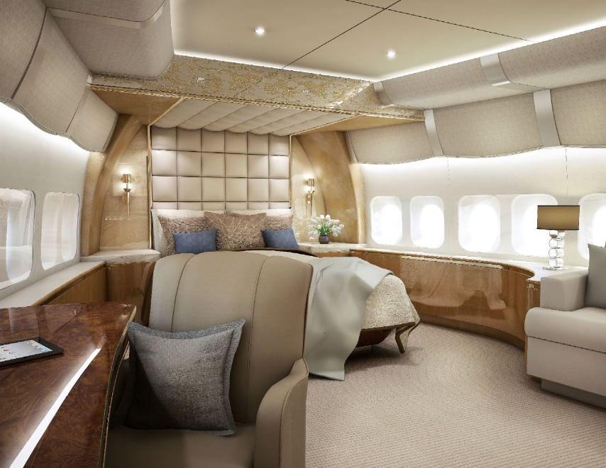 Vizi da miliardari il boeing diventa una mega casa di for Piani casa di lusso 2015