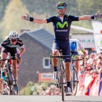 Ciclismo, Freccia Vallone: tris di Valverde. Gilbert cade e si ritira