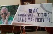Premio giornalistico/letterario Carlo Marincovich, trofei d'autore