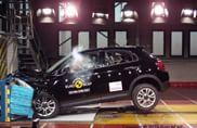 EuroNCAP, quattro modelli sul banco di prova