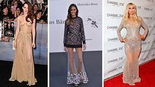 Stile e trasparenze, gli abiti  che hanno influenzato il look