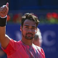 Tennis, impresa di Fognini a Barcellona: sconfitto Nadal