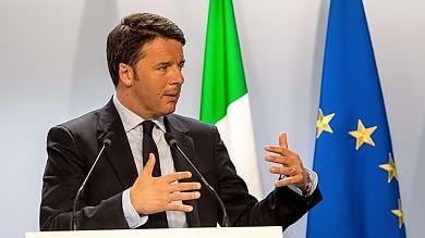 """Renzi: """"Fondi triplicati per Triton""""   video     Ue, No a distribuzione dei rifugiati   video"""