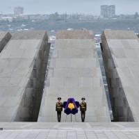 Armenia, centesimo anniversario genocidio. Putin: