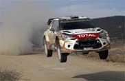 Tre DS 3 WRC al via nel Rally d'Argentina