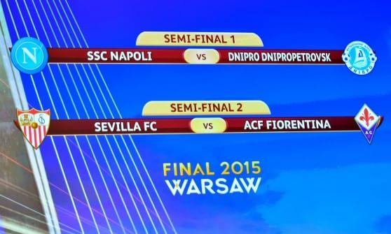 Europa League Napoli Calendario.Champions La Juventus Pesca Il Real Madrid Europa League
