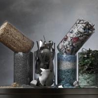 Vetro, legno, plastica: i materiali diventano arte per i 15 anni Conai
