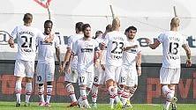 Carpi, a Frosinone primo match-point per la 'A'   Catania , 5° centro di fila Pari Bari-Bologna