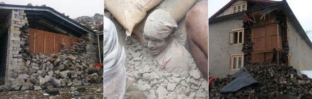 Nepal, forte sisma. Oltre 400 morti   foto video    Cade torre Unesco. 50 intrappolati    prima/dopo