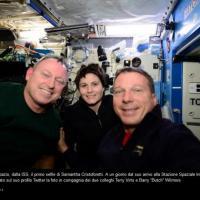 Fotoracconto: la missione di AstroSamantha in 50 tweet