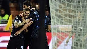 Inter batte Roma nel finale decide Icardi: 2-1    foto