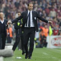 Juventus, Allegri: ''Abbiamo gestito male il vantaggio''