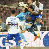 Napoli-Sampdoria, il film della partita