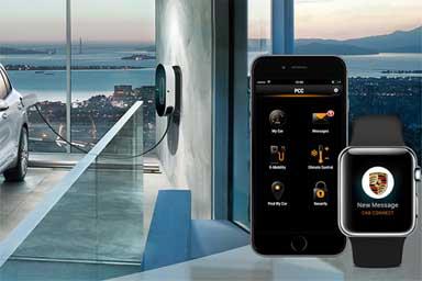 Così l'Apple Watch dialoga con le Porsche