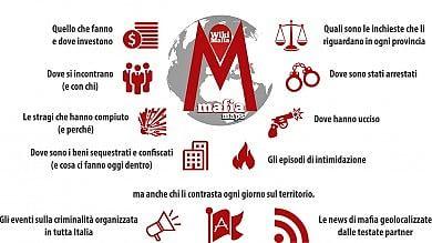 """MafiaMaps, il crimine in un'app   Foto   """"Ora aiutateci col crowdfunding"""""""