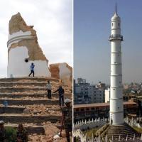 Nepal, prima e dopo: i danni del terremoto