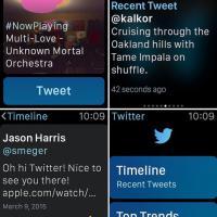 Twitter, Uber e Instagram: come saranno le app più famose sull'Apple Watch