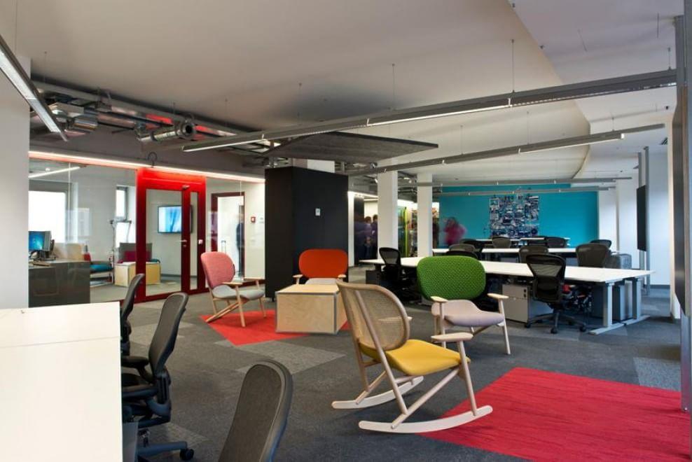 Gli uffici pi belli del mondo for Ufficio 415 bis milano