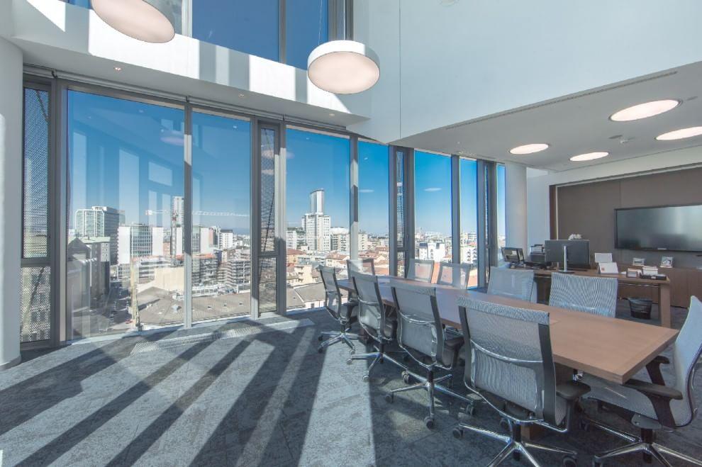 Gli uffici pi belli del mondo for Samsung arena milano