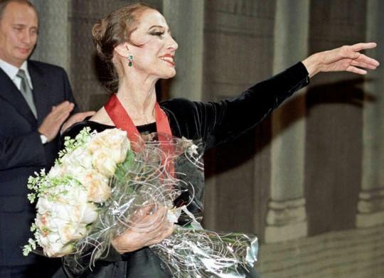 Addio a Maya Plisetskaya, leggendaria etoile del Bolshoi