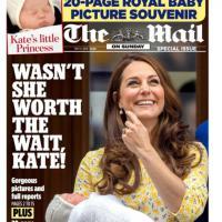 E' nata la Royal Baby: le prima pagine dei quotidiani Gb