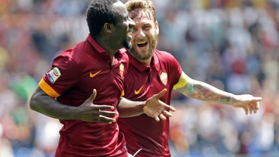 Roma-Genoa 2-0: bis di Doumbia e perla di Florenzi per il secondo posto